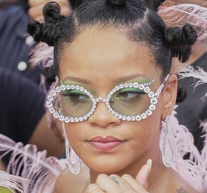 Rihanna en el Carnaval de Barbados 2019
