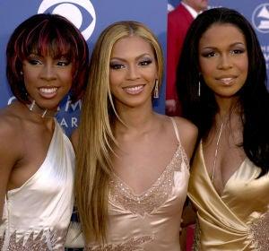 Destiny's Child en la ceremonia de los Grammy 2001