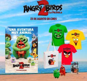Consigue un pack de merchandising exclusivo de 'Angry Birds 2: La Película'