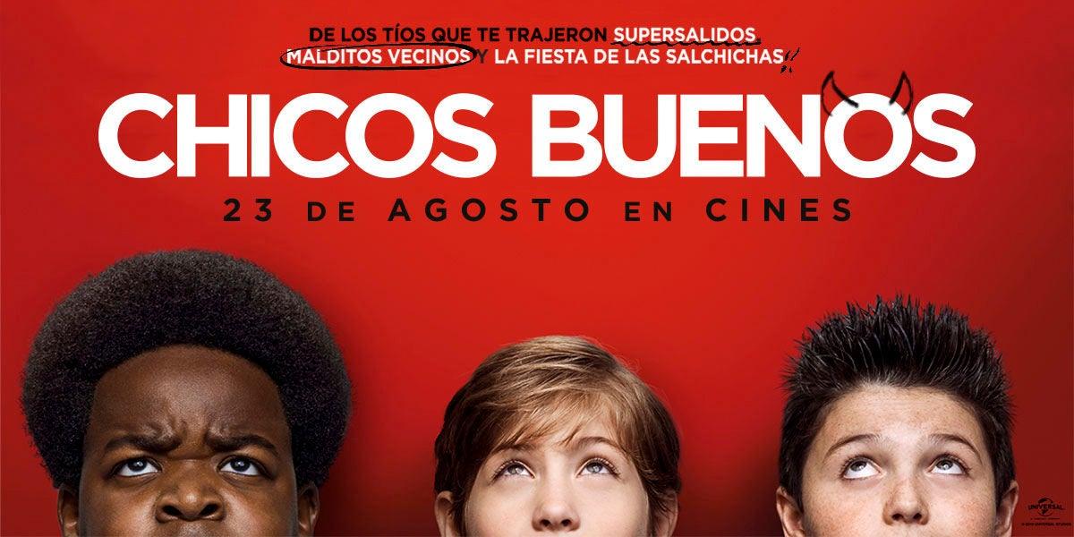 Concurso pack de película 'Chicos Buenos'