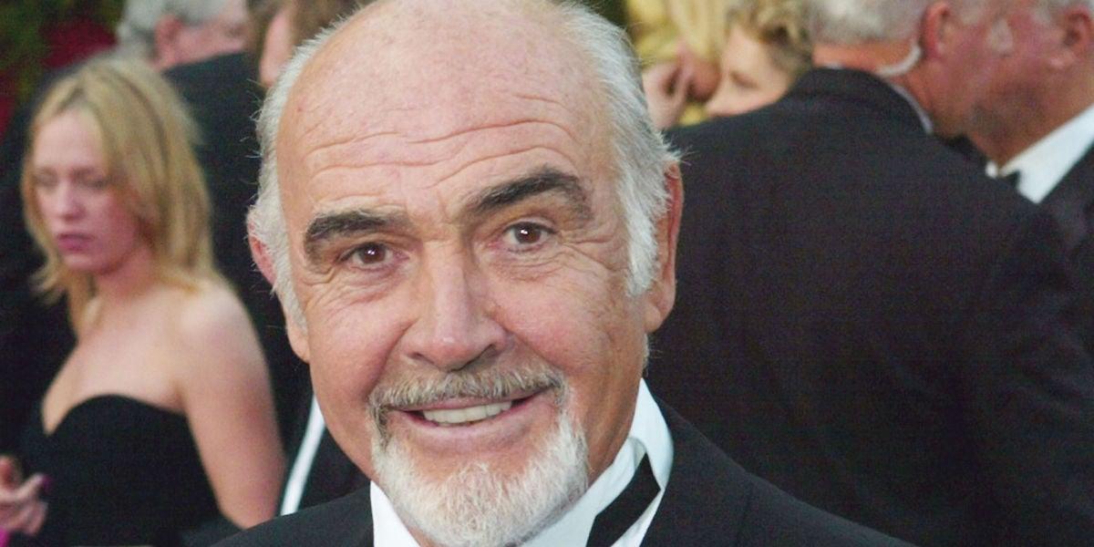 El actor Sean Connery