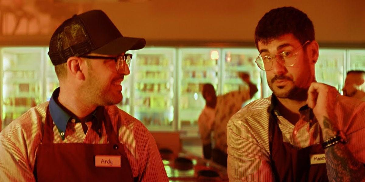 Andy Clay y Melendi en el vídeo de 'Dímelo'