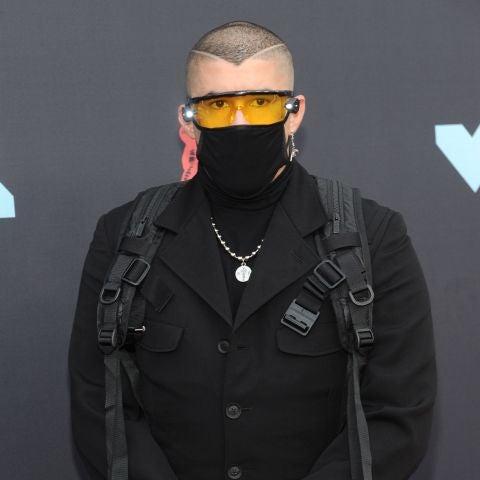 Bad Bunny en los MTV Video Music Awards.