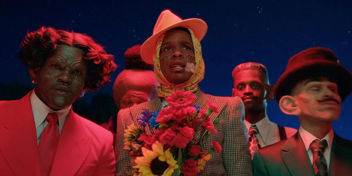 A$AP Rocky en el videoclip de 'Babushka boi'
