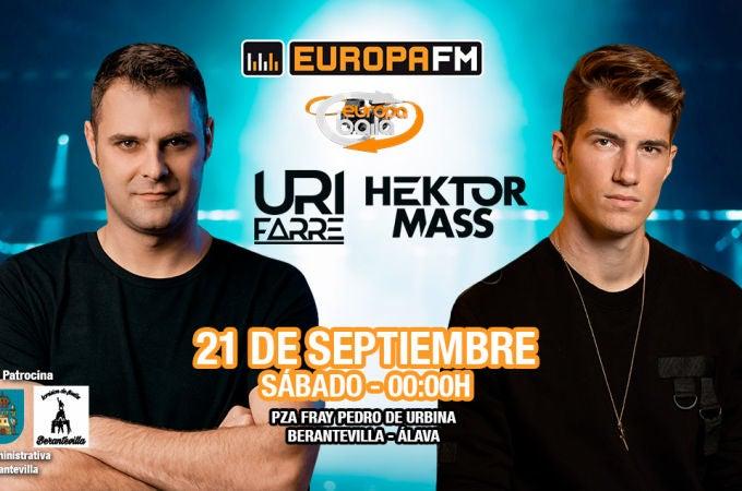 Fiesta Europa FM con Uri Farré y Hektor Mass