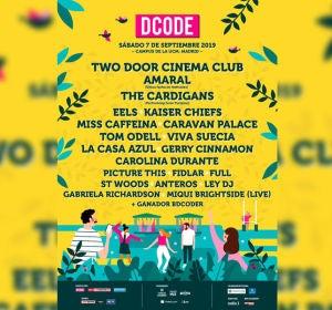 Cartel de DCODE 2019