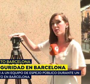 Inseguridad en Barcelona: roban a un equipo de 'Espejo Público'