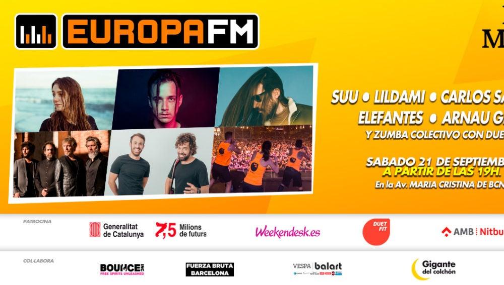 La Mercè 2019 con Europa FM