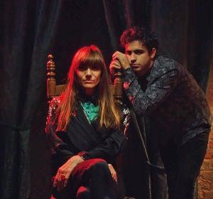 La Bien Querida y Diego Ibáñez en el vídeo de '¿Qué?'