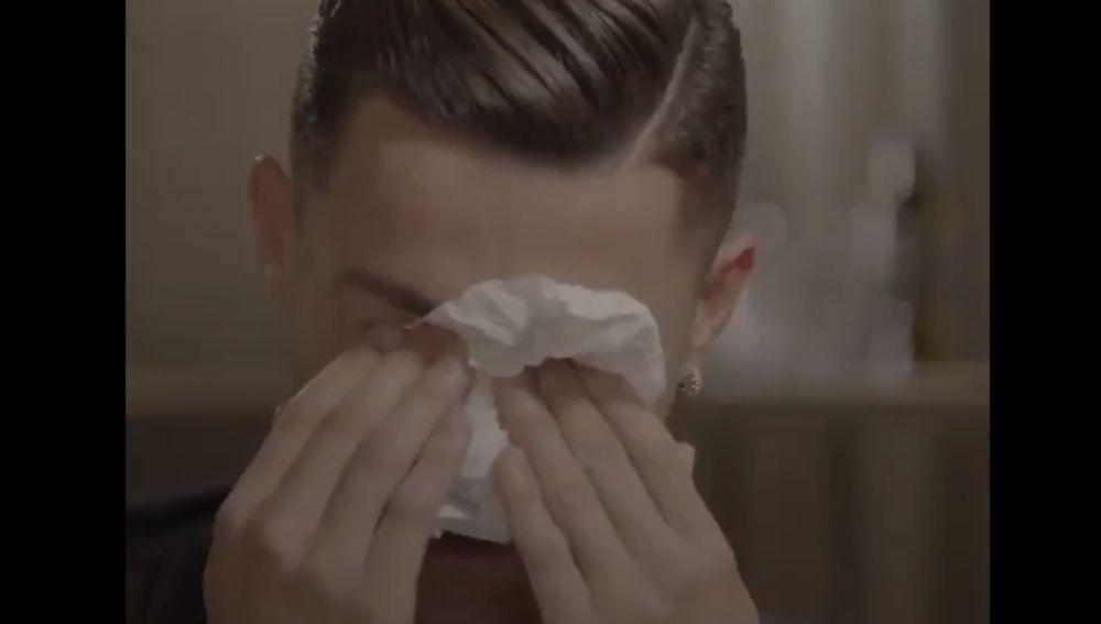 Cristiano Ronaldo en su entrevista en 'Good Morning Britain'