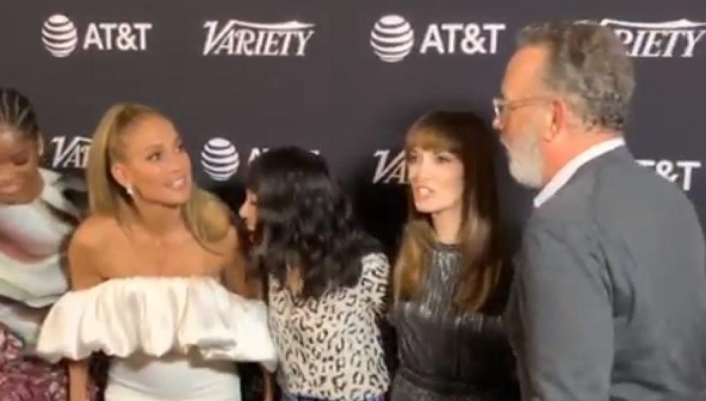 J.Lo y Tom Hanks