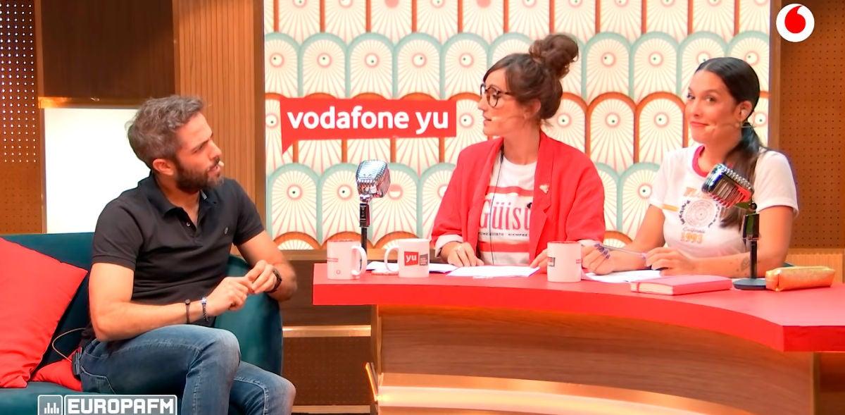 Roberto Leal con Ana Morgade en 'yu no te pierdas nada'