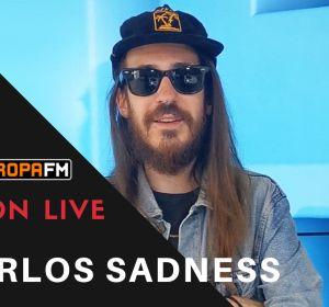 Entrevista a Carlos Sadness en Europa FM