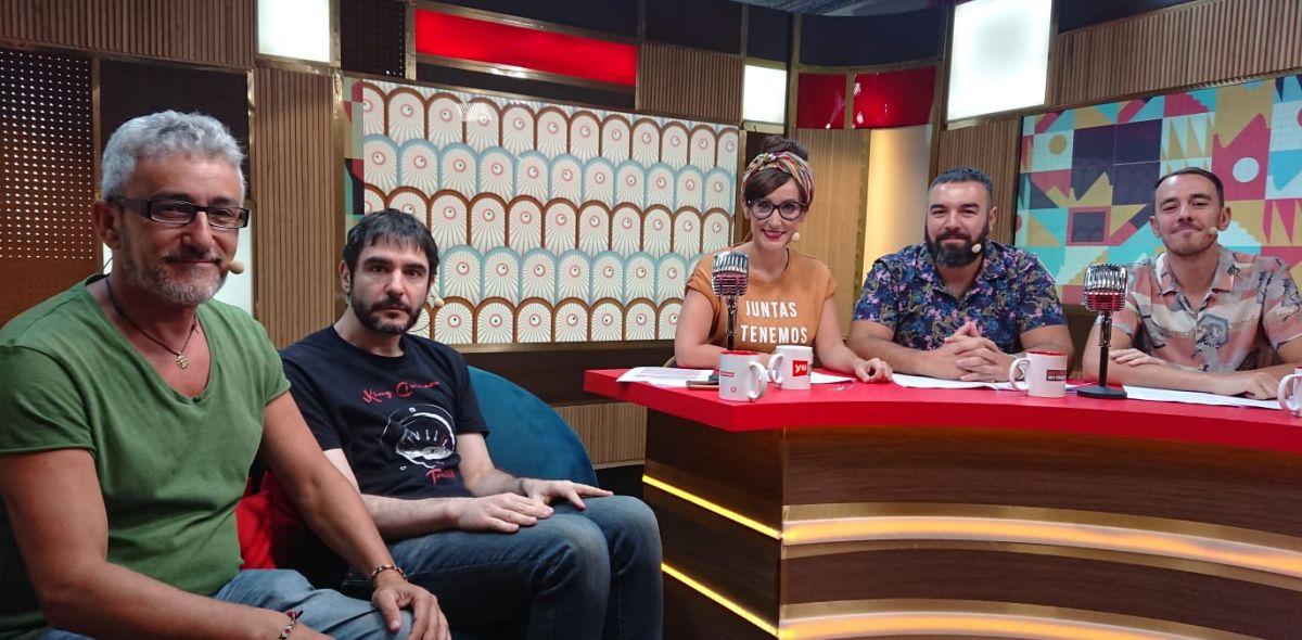 Juanra Bonet y David Fernández en 'yu, no te pierdas nada'