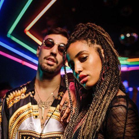 Rels B y Damian Coco en el videoclip 'La Latina'