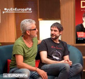 David Fernández, Juanra Bonet y Ana Morgade en 'yu, no te pierdas nada'