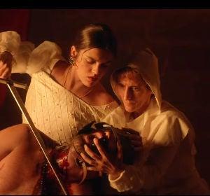 Amaia Romero en el videoclip 'Quiero que vengas'