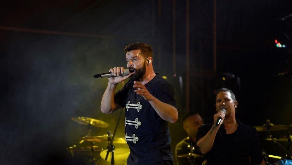 Ricky Martin en la cumbre Mundial de los Premios Nobel de la Paz en Mérida
