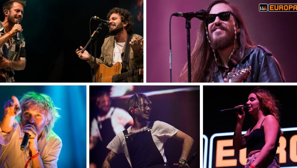 Arnau Griso, Carlos Sadness, Elefantes, Lildami y Suu en los conciertos de la Mercè Europa FM