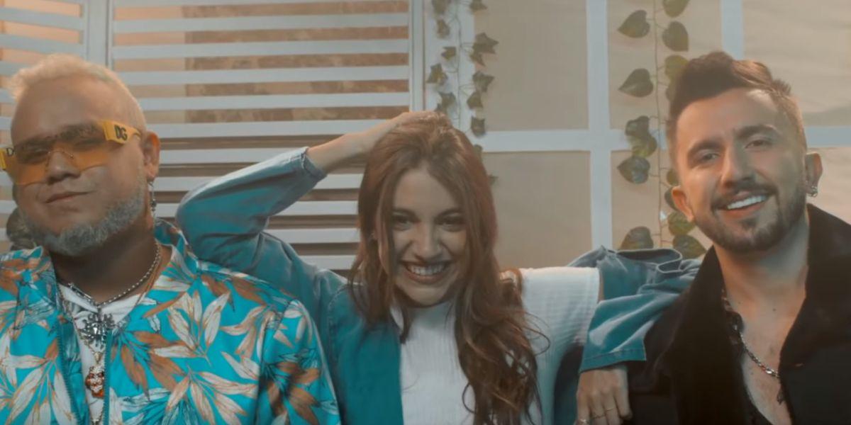 Yera, Ana Guerra y Nabález en el vídeo de 'El Viajero'