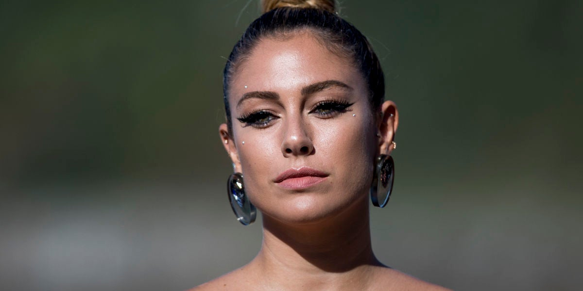 El maquillaje-joya de Blanca Suárez