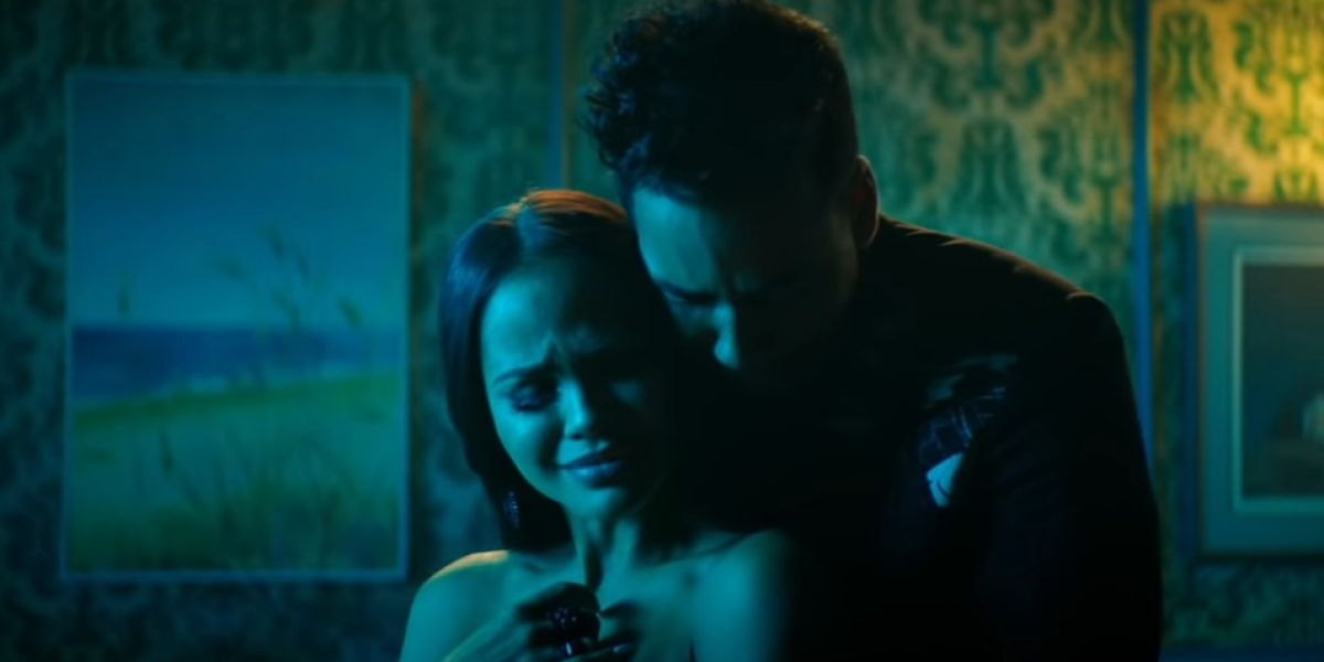 Natti Natasha y Romeo Santos en el videoclip de 'La Mejor Versión De Mi'