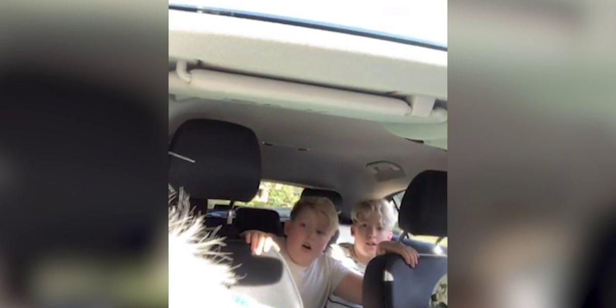 Madre gasta una broma a sus hijos