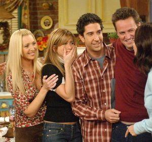 Los protagonistas de 'Friends'