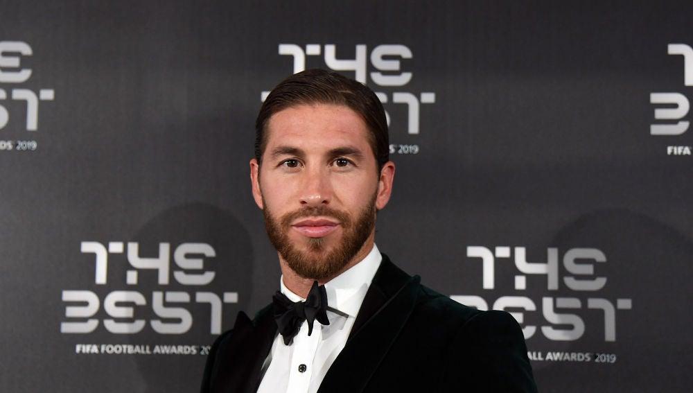 Sergio Ramos en los FIFA Football Awards 2019
