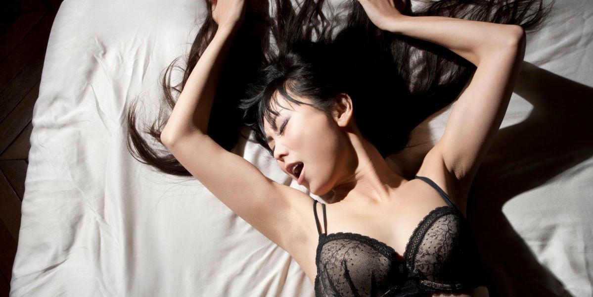 Chica a punto de llegar al orgasmo
