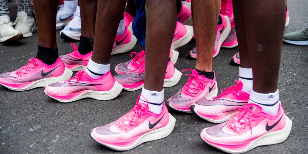 Las zapatillas revolucionarias utilizadas en el reto