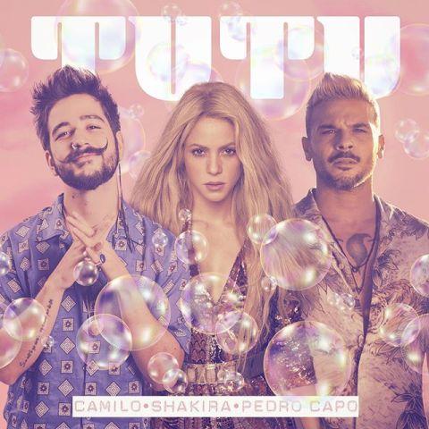 Shakira se une a Camilo y Pedro Capó para el remix de 'Tutu'