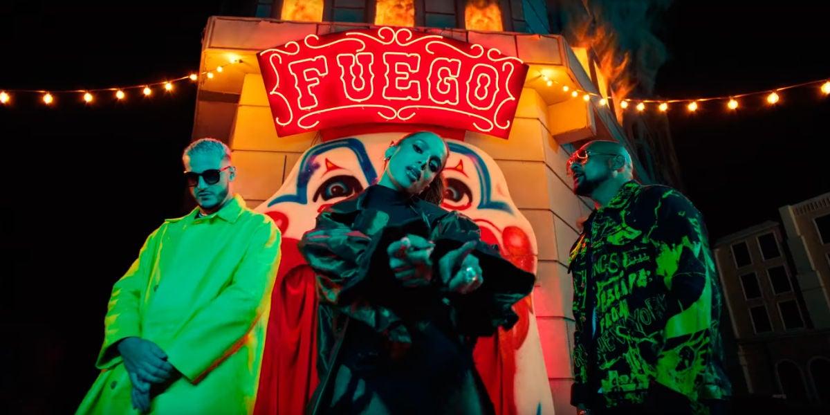 DJ Snake, Sean Paul y Anitta se unen en el ardiente víde de 'Fuego'