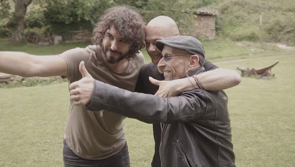 Mikel Izal, Jesús Cifuentes y Fito Cabrales