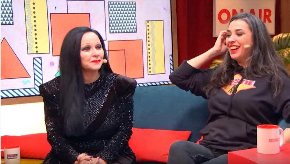 Alaska y Marta Vaquerizo