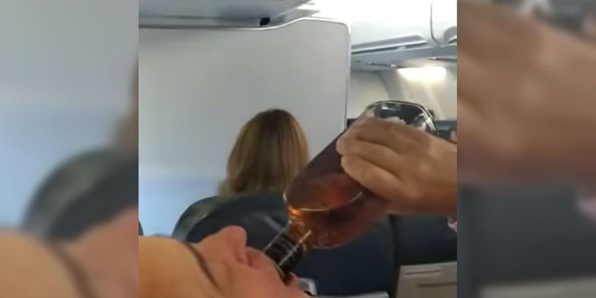 Reacción de los pasajeros en un aterrizaje de emergencia