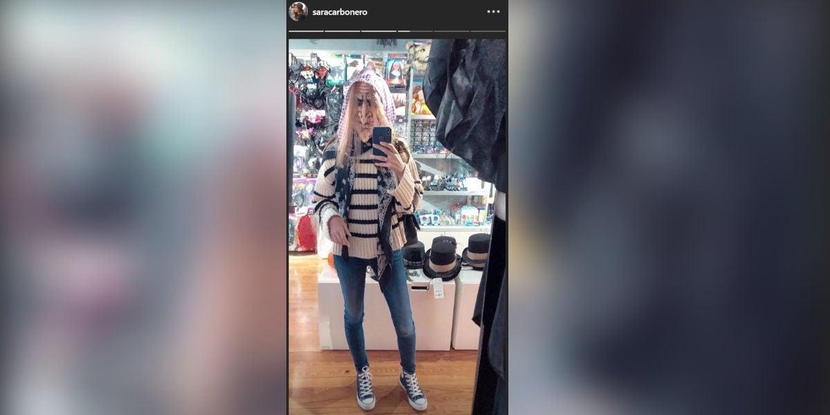 El disfraz de Sara Carbonero