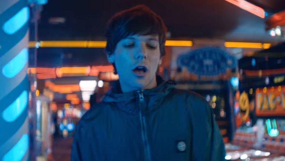 Louis Tomlinson en el videoclip de 'We Made It'