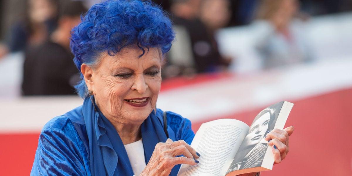 Imagen de archivo de la actriz Lucia Bosé.