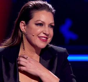 Niña Pastori alucina en su estreno en 'La Voz Kids' con el regalo de tres talents
