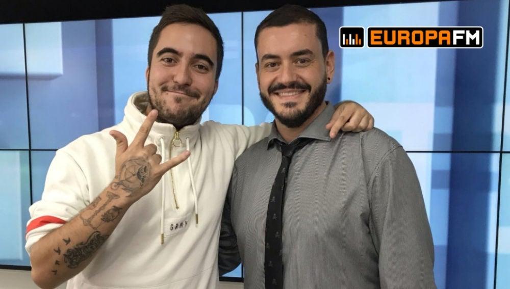Beret y Juanma Romero en Europa FM
