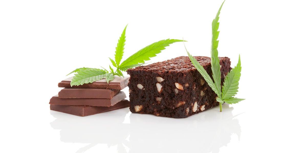 Tarta de cannabis