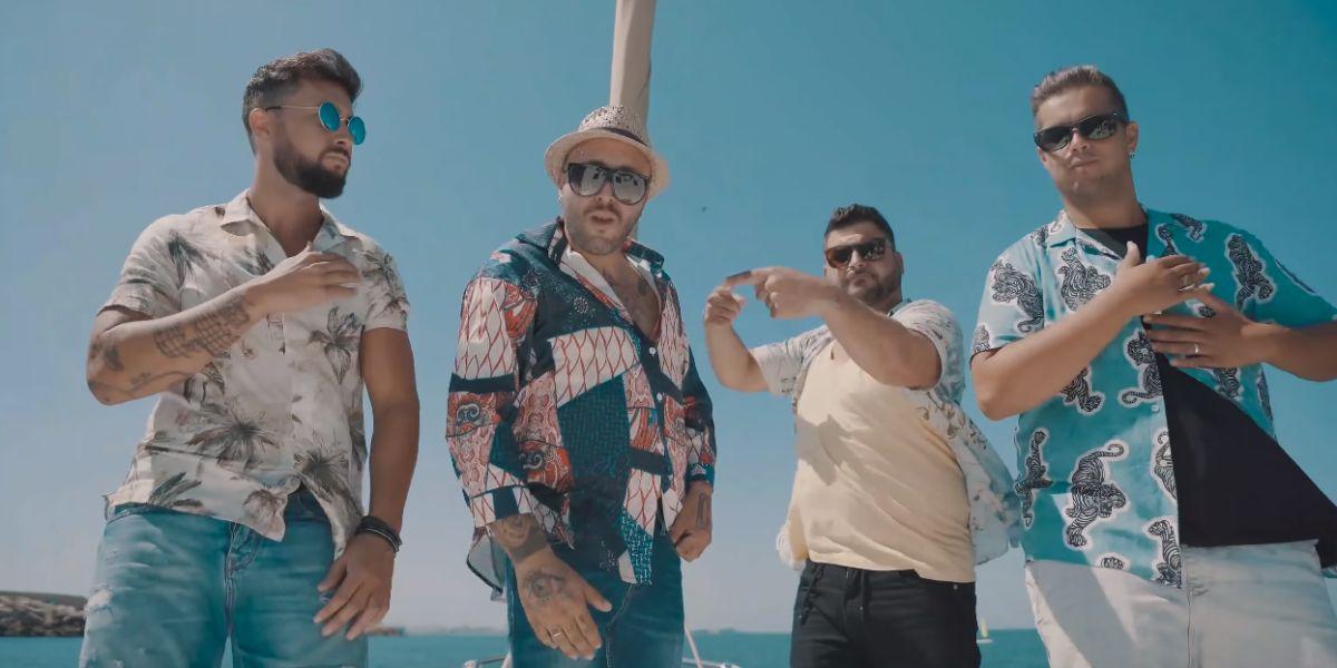 Kiko Rivera y Decai en el videoclip de 'Amor Prohibido'