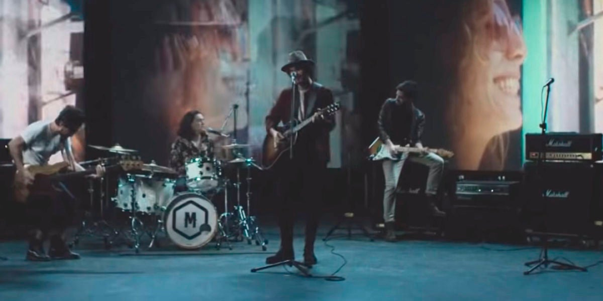 Morat en el videoclip de 'A Dónde Vamos'