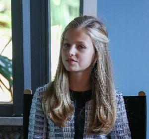 La princesa Leonor ha hecho su debut en Cataluña