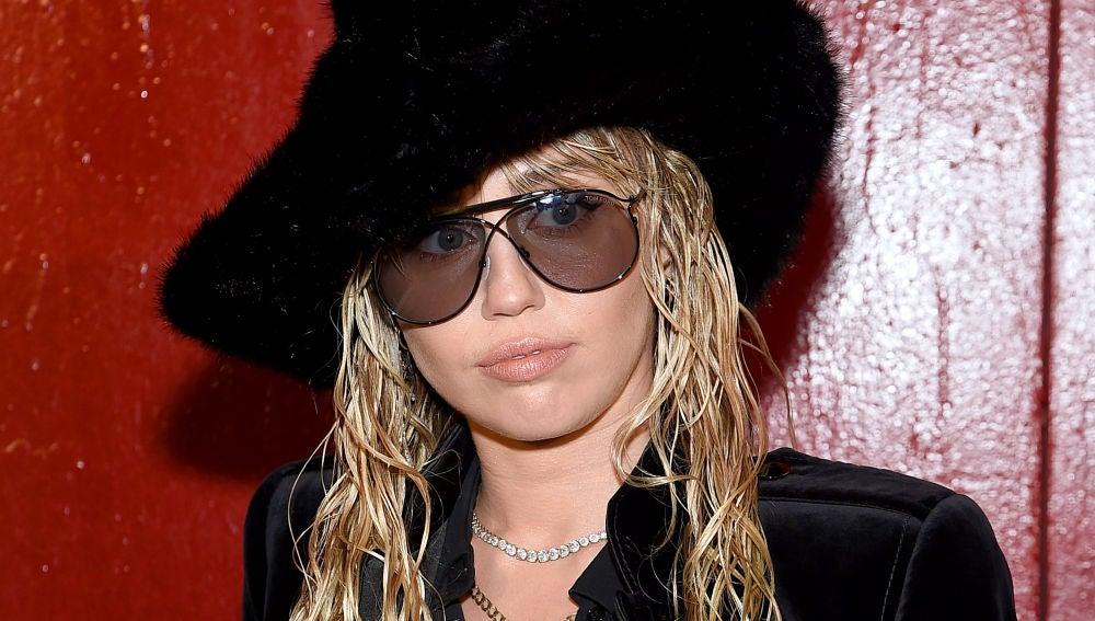 Miley Cyrus en la New York Fashion Week