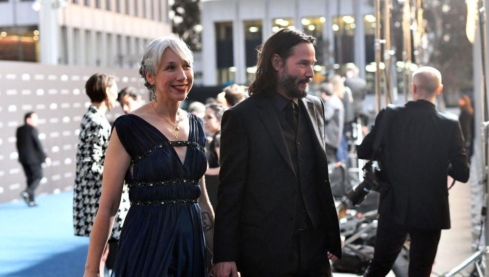 Keanu Reeves presenta a su novia Alexandra Grant