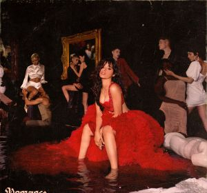 Portada de 'Romance', el segundo disco de Camila Cabello