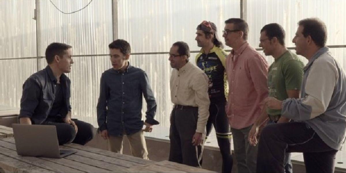 Jorge Ruiz de Maldita Nerea en el videoclip 'Extraordinario'
