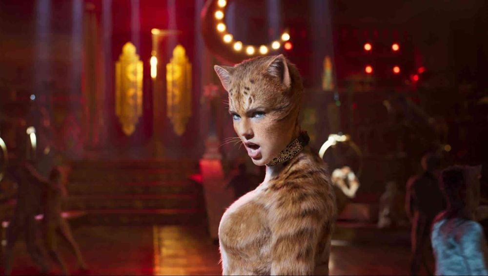 Taylor Swift en la película de 'Cats'